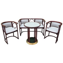1930s Salon Suite by Josef Hoffmann for J&J Kohn and Mundus