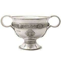 1930s Sterling Silver Sugar/ Bon Bon Bowl by Asprey & Co