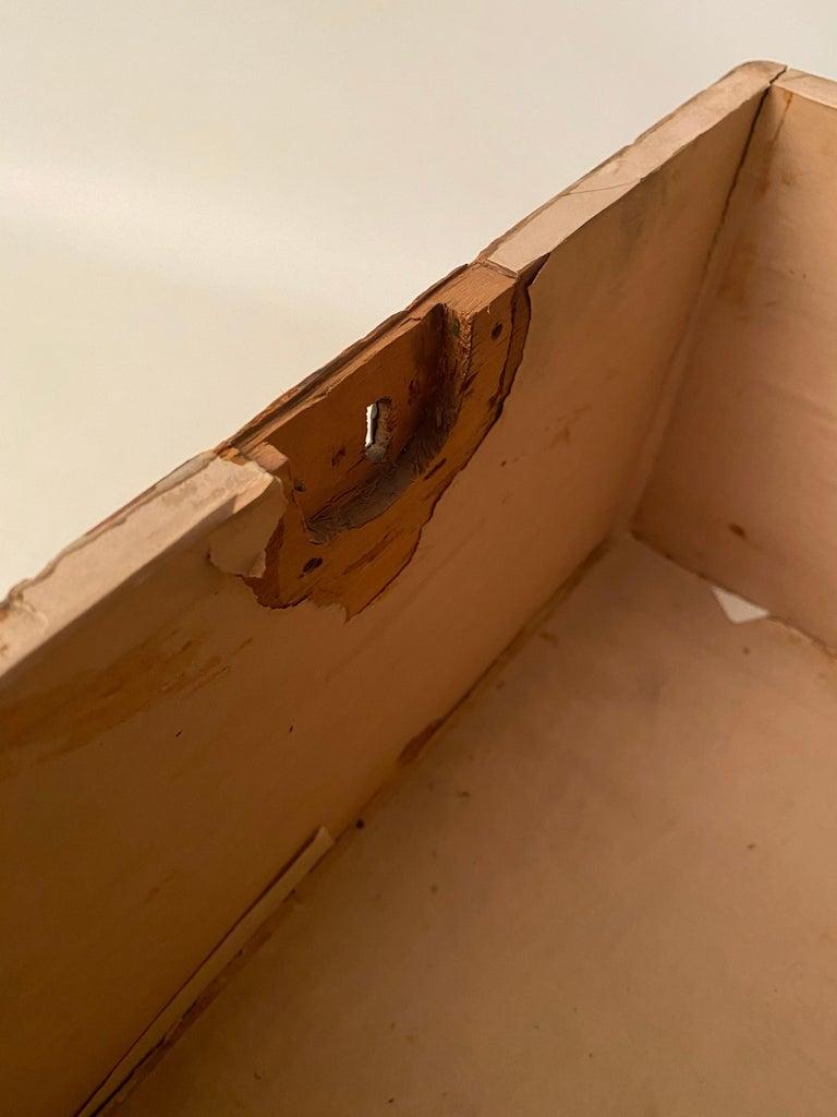 1930s Tramp Art Keepsake Box For Sale 5