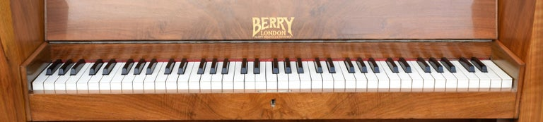 20th Century 1930s Upright Art Deco Piano by Berry of London