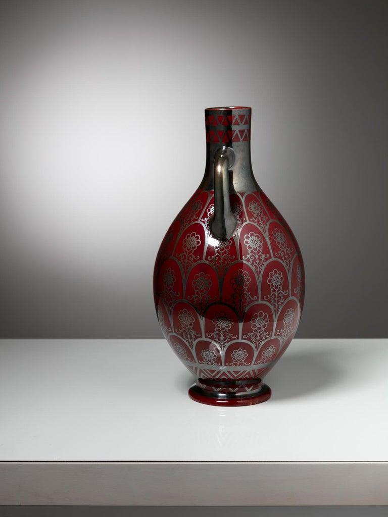Italian 1930s Vase by Richard Ginori For Sale