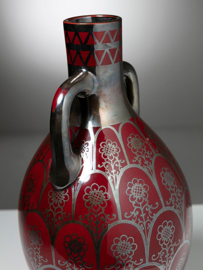 1930s Vase by Richard Ginori In Good Condition For Sale In Milan, IT