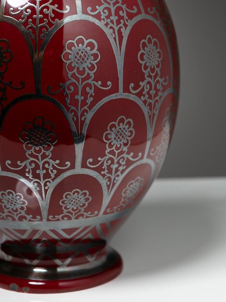 Ceramic 1930s Vase by Richard Ginori For Sale