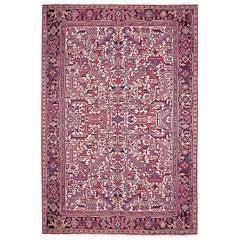 1930s Vintage Persian Heriz Oriental Rug