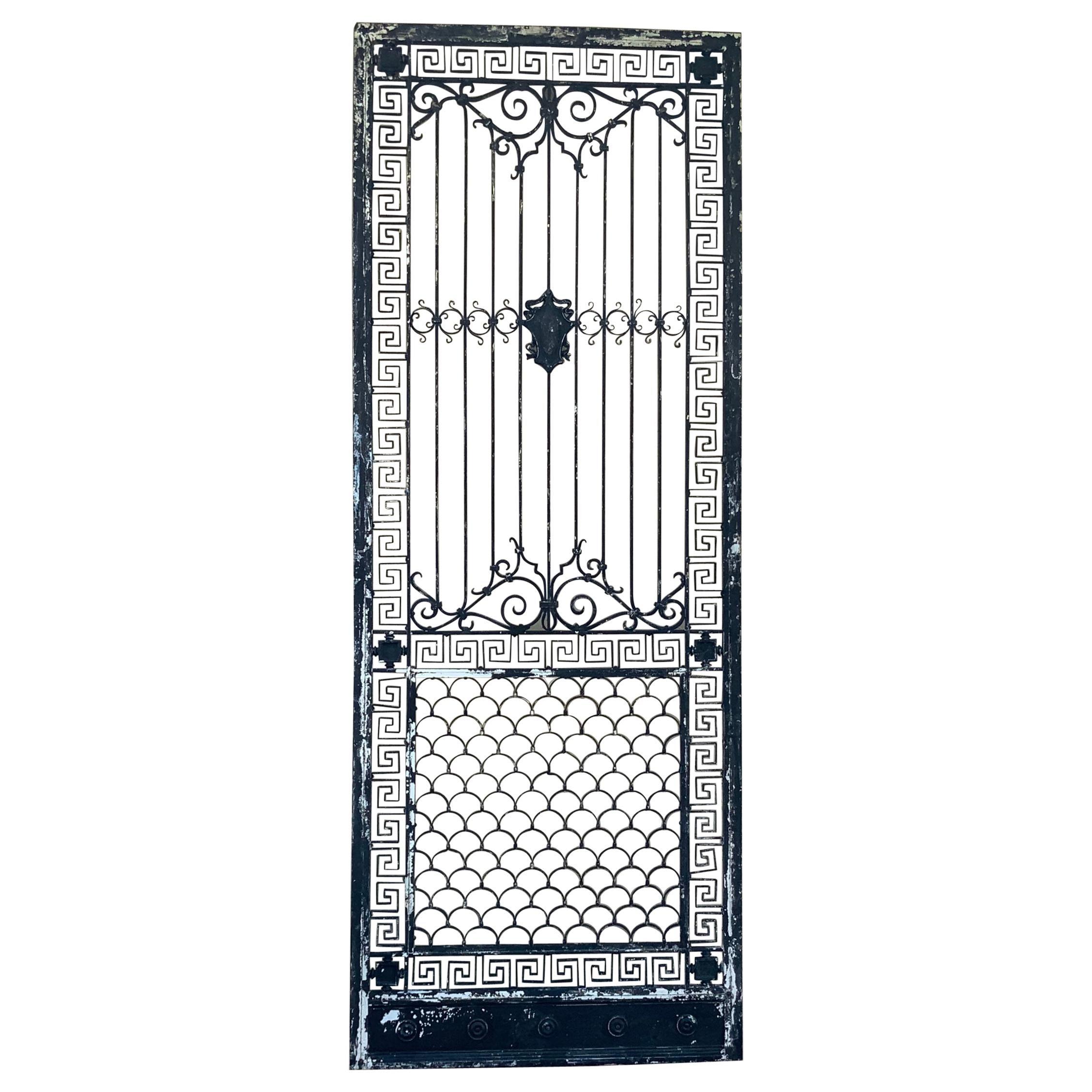 1930s Wrought Iron Gate or Door