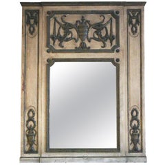 1931 NYC Waldorf Astoria Hotel French Wood & Gold over Mantel Mirror, Room 964