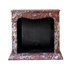 1931 NYC Waldorf Astoria Hotel Rococo Rouge Royal French Louis XV Mantel
