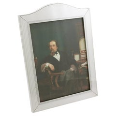 1932 Antique Sterling Silver Photograph Frame