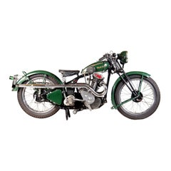 1932 Phelon and Moore Panther Motorcycle, Vintage 250cc Sloper Engine