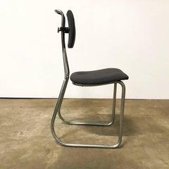 1932, W.H. Gispen for Gispen Culemborg, Holland, Original Pre War Typing Chair
