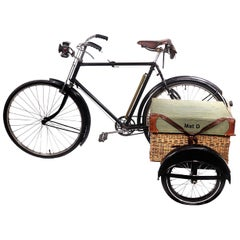 1933 Wicker Basket Sidecar Picnic Bicycle