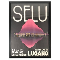 1934 Lugano Swiss Film Festival Poster