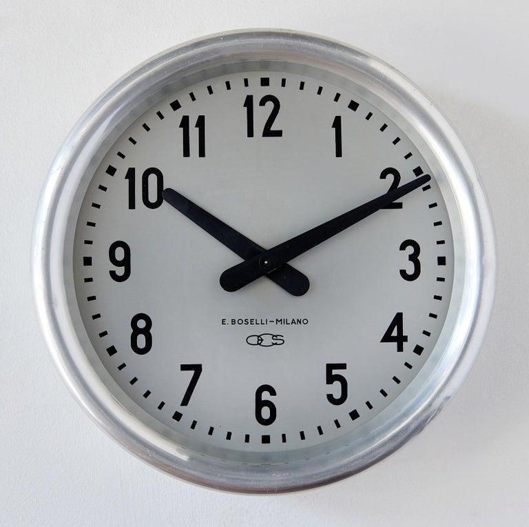 Italian 1936 Wall Clock by Gio Ponti For Sale