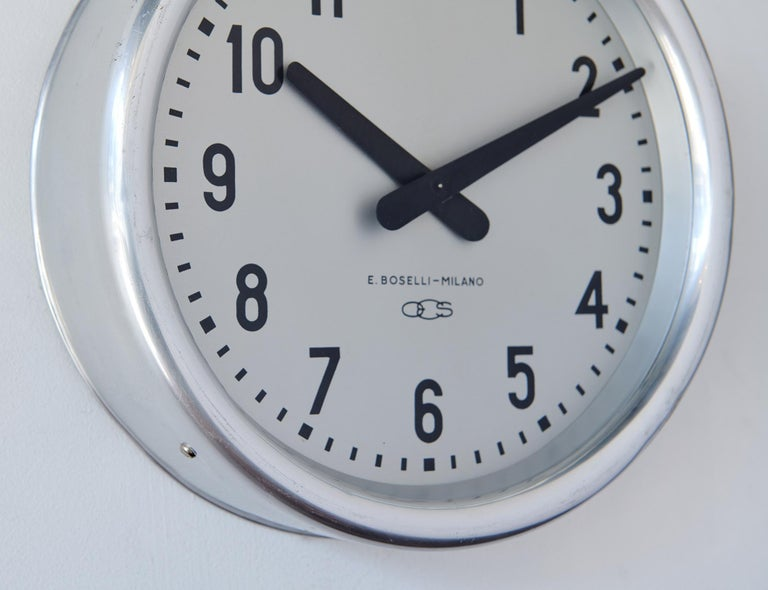 1936 Wall Clock by Gio Ponti In Good Condition For Sale In Los Angeles, CA