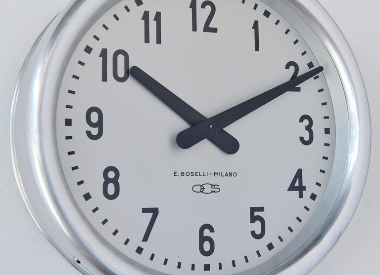 Mid-20th Century 1936 Wall Clock by Gio Ponti For Sale