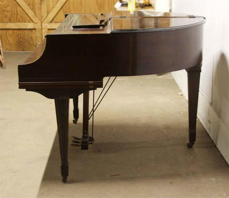 1937 Art Deco Butterfly Baby Grand Piano For Sale 3