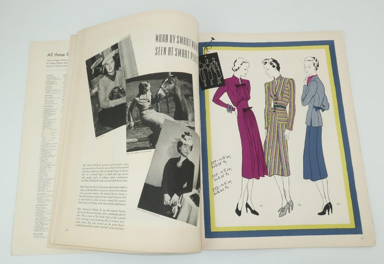 1938 Vogue Pattern Book For Sale 2