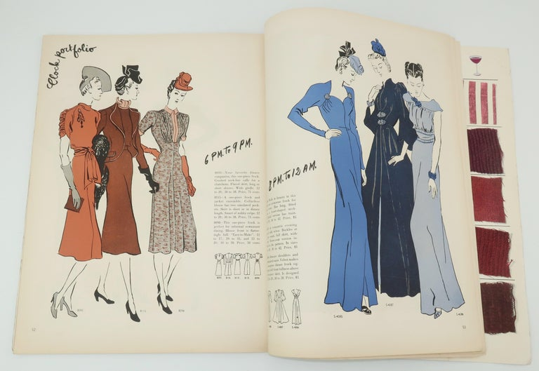 1938 Vogue Pattern Book For Sale 3