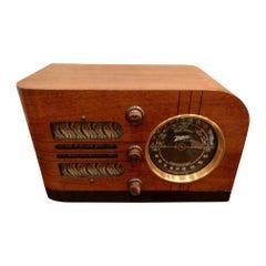 1938 Zenith Model 6-D-219 Table Top Tube Radio Bluetooth