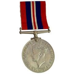 1939-1945 GEORGIVS VI D G. BR: OMN. REX ET INDIAE IMP WWII Vintage MEDAL