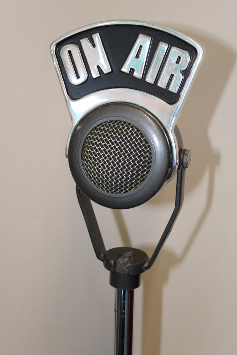 1940s-1950s Tuner Dynamic Microphone Model 99 For Sale 7