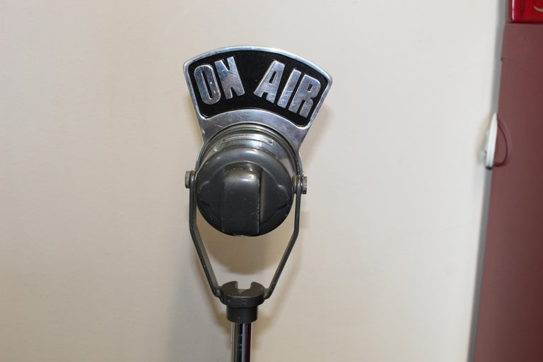 1940s-1950s Tuner Dynamic Microphone Model 99 For Sale 1