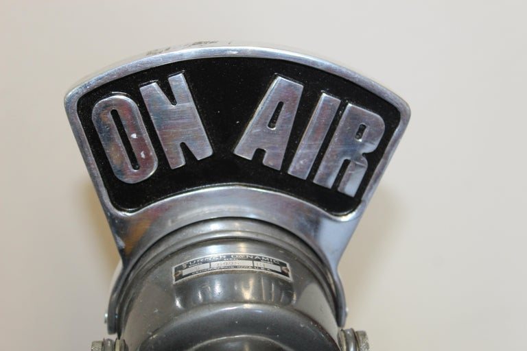 1940s-1950s Tuner Dynamic Microphone Model 99 For Sale 2