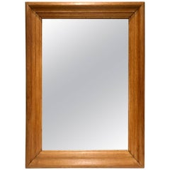 1940 French Oak Mirror