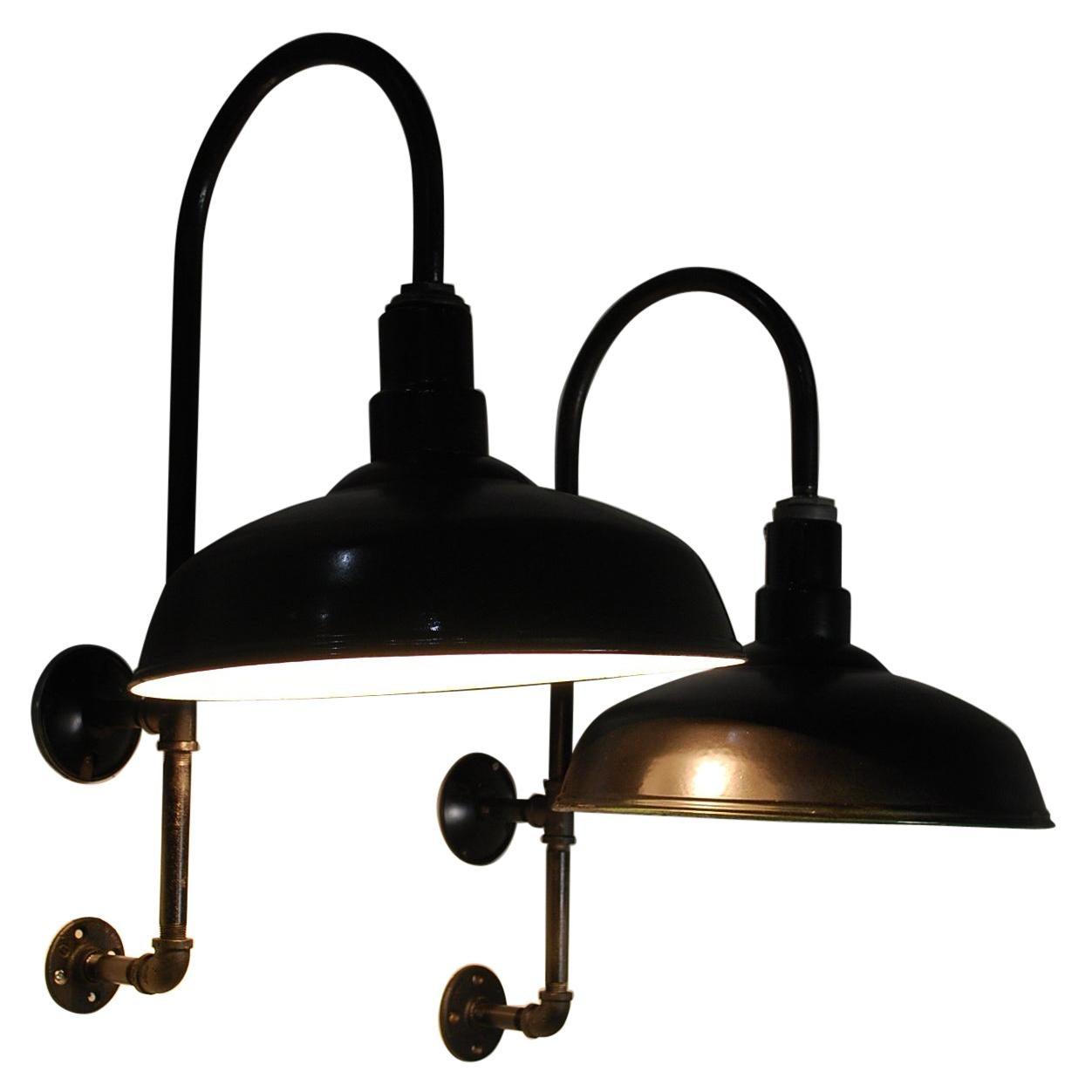 1940 Industrial Benjamin Sconces Lights