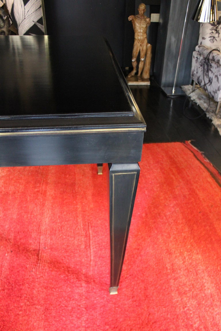 Mid-20th Century 1940 Rectangular Writing Desk or Dining Table in Napoleon III Style For Sale