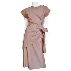 1940s Adele Simpson Tie Top and Skirt