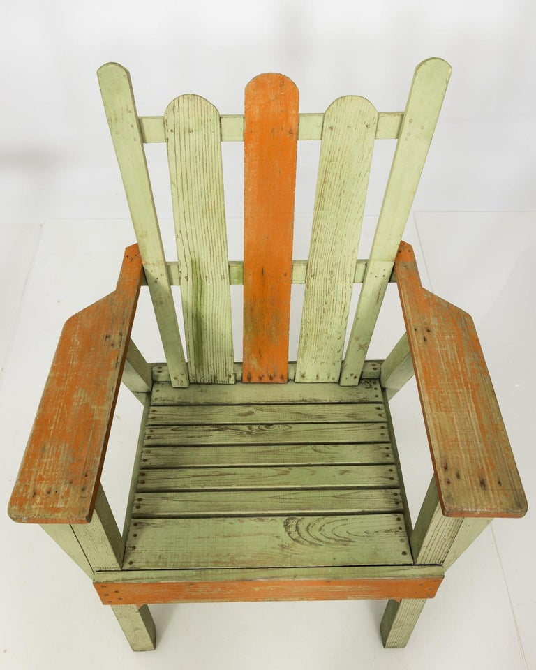 1940s Adirondack Lounge Chairs For Sale 4