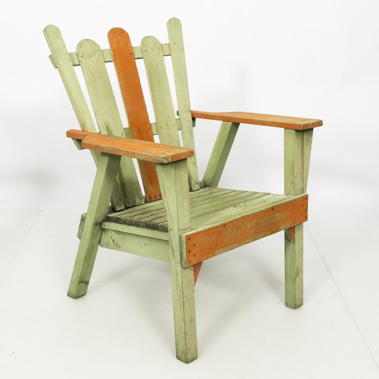 1940s Adirondack Lounge Chairs For Sale 5