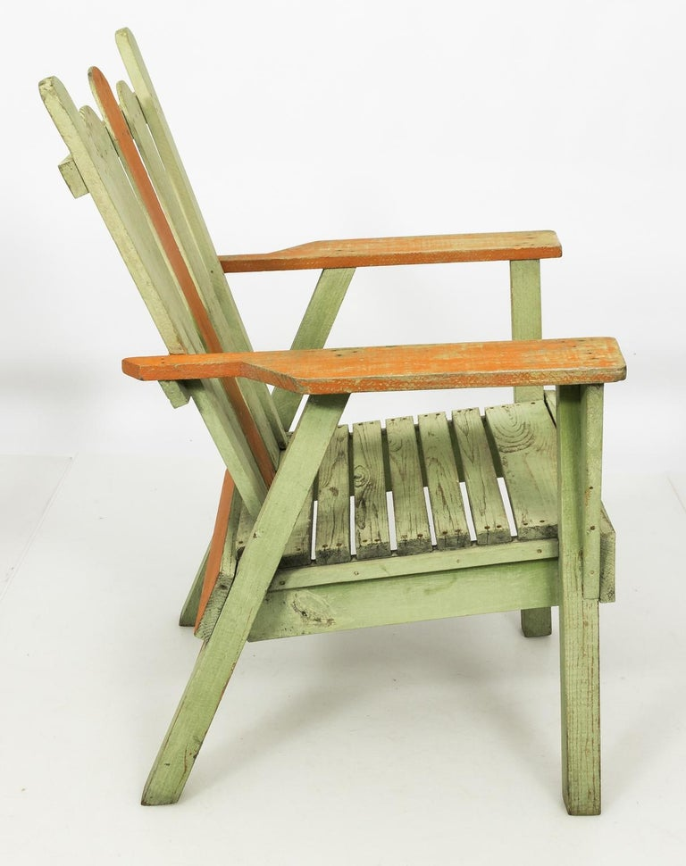 1940s Adirondack Lounge Chairs For Sale 6