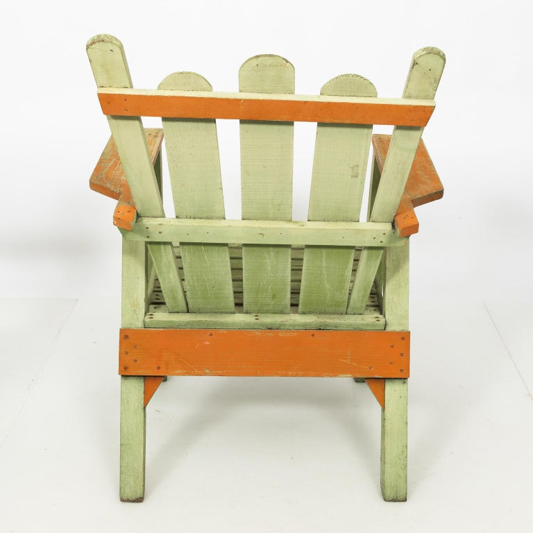 1940s Adirondack Lounge Chairs For Sale 7