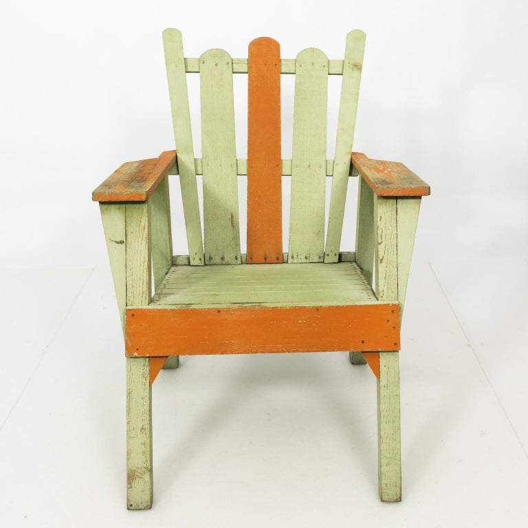 1940s Adirondack Lounge Chairs For Sale 10