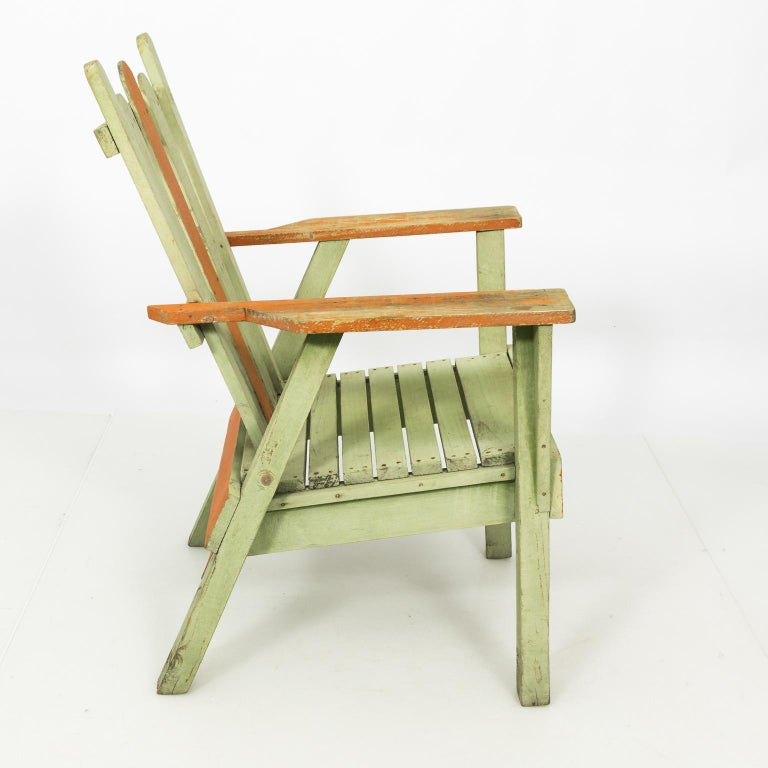 1940s Adirondack Lounge Chairs In Good Condition For Sale In Stamford, CT