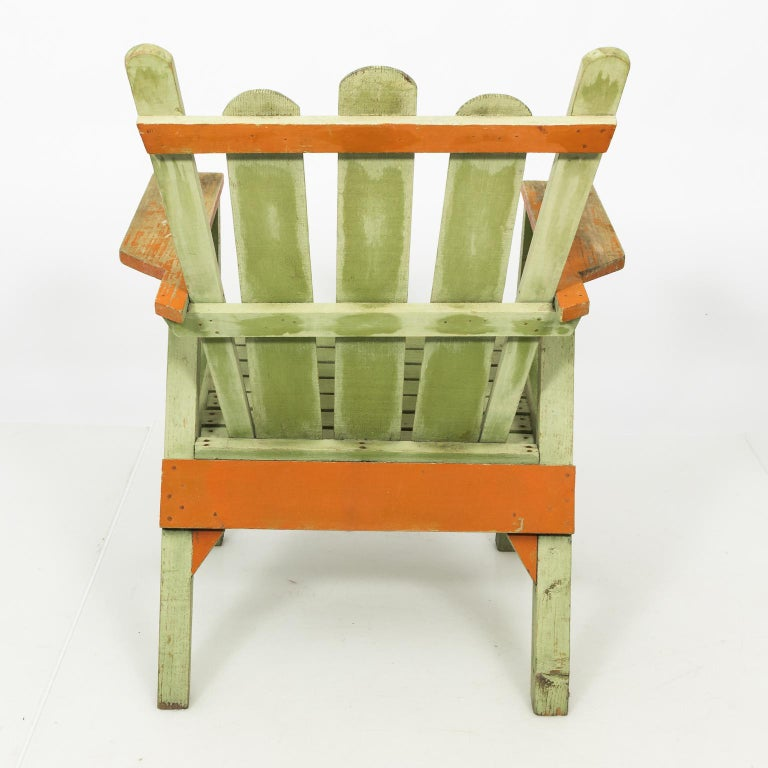 20th Century 1940s Adirondack Lounge Chairs For Sale