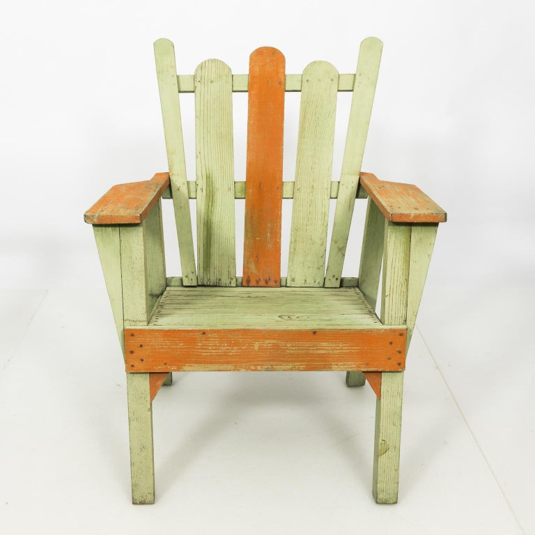 1940s Adirondack Lounge Chairs For Sale 1