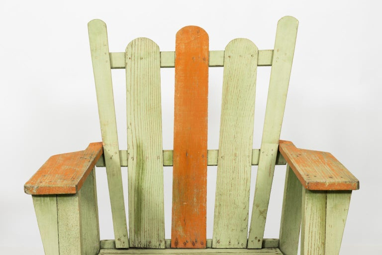 1940s Adirondack Lounge Chairs For Sale 3