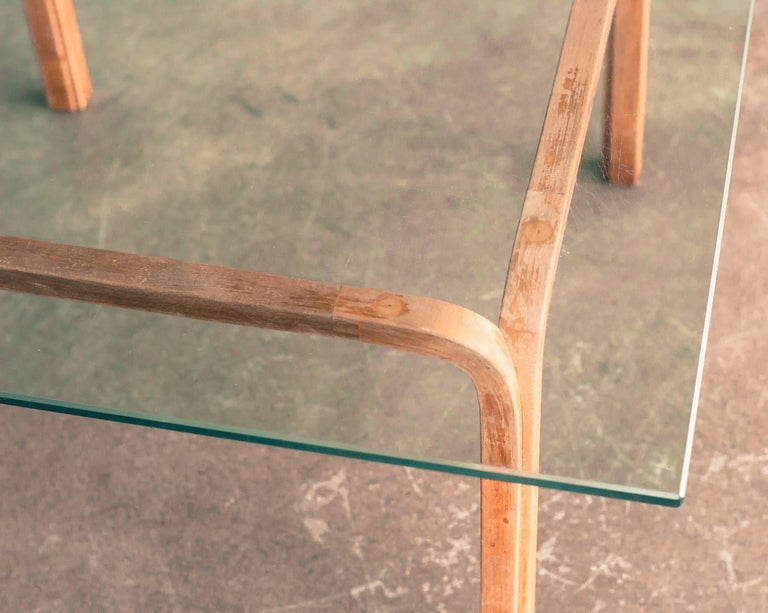 Finnish 1940s Alvar Aalto Side Table For Sale
