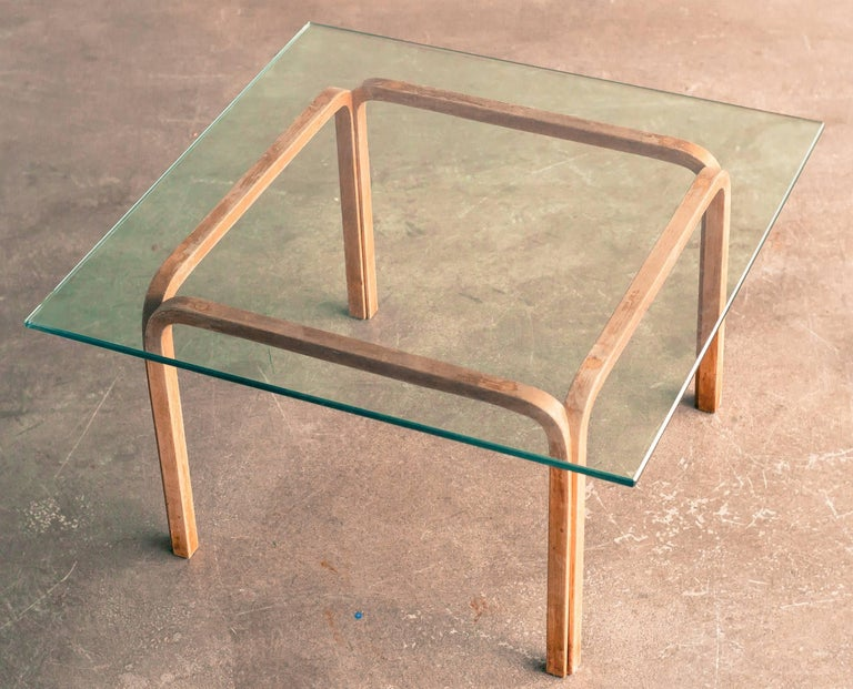 Mid-20th Century 1940s Alvar Aalto Side Table For Sale