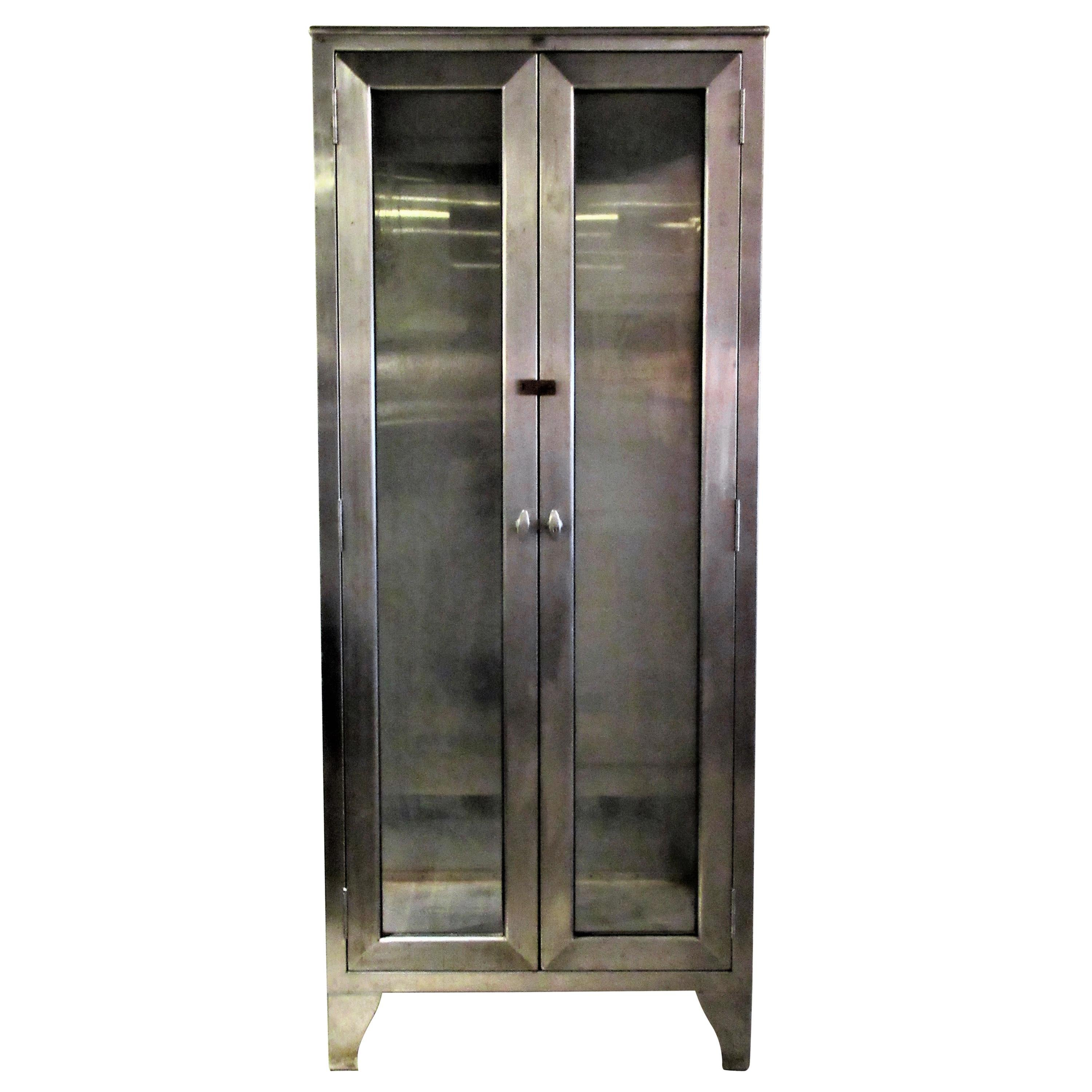 1940 s american stainless steel industrial medical cabinet for sale rh 1stdibs com used stainless steel medical cabinets stainless steel medicine cabinet