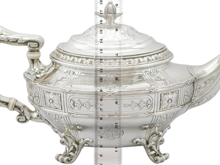 1940s American Silver Teapot At 1stdibs