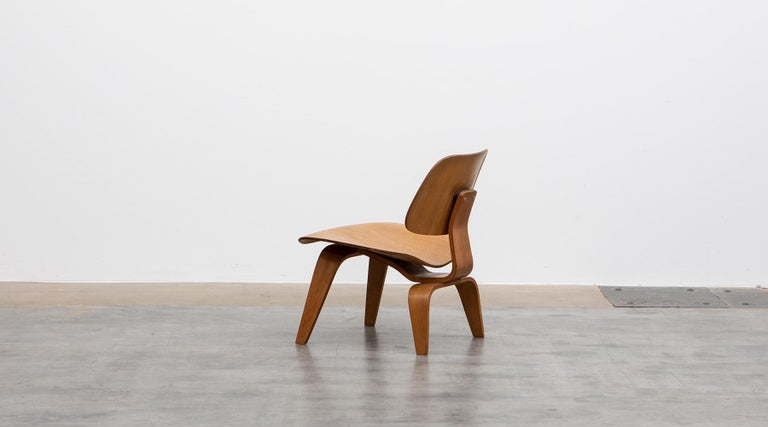 American 1940s Ash Plywood LCW Chair by Charles & Ray Eames