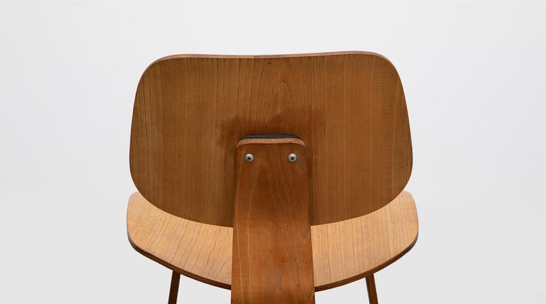 1940s Ash Plywood LCW Chair by Charles & Ray Eames