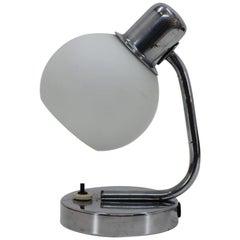 1940s Bauhaus Table Lamp, Czechoslovakia