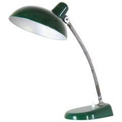 1940s Bauhaus Vintage Table Green Table Lamp