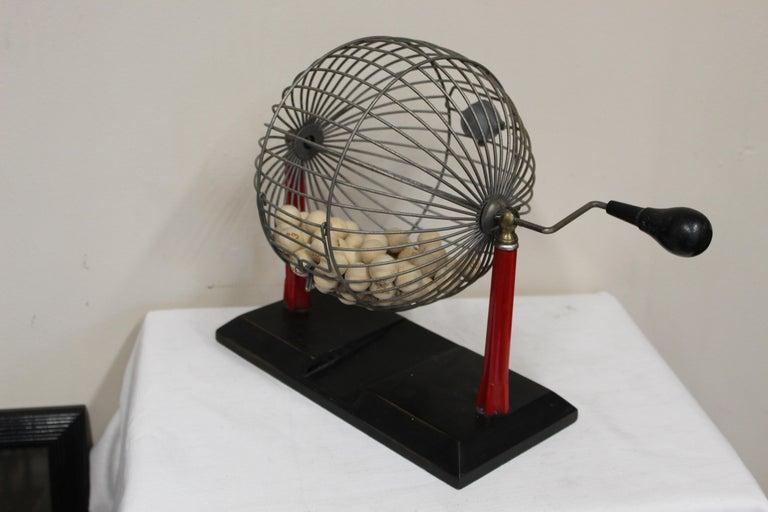 1940s Bingo Cage For Sale 6