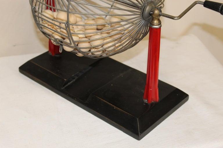 1940s Bingo Cage For Sale 7